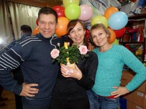 Павел, Ольга, Анжелика